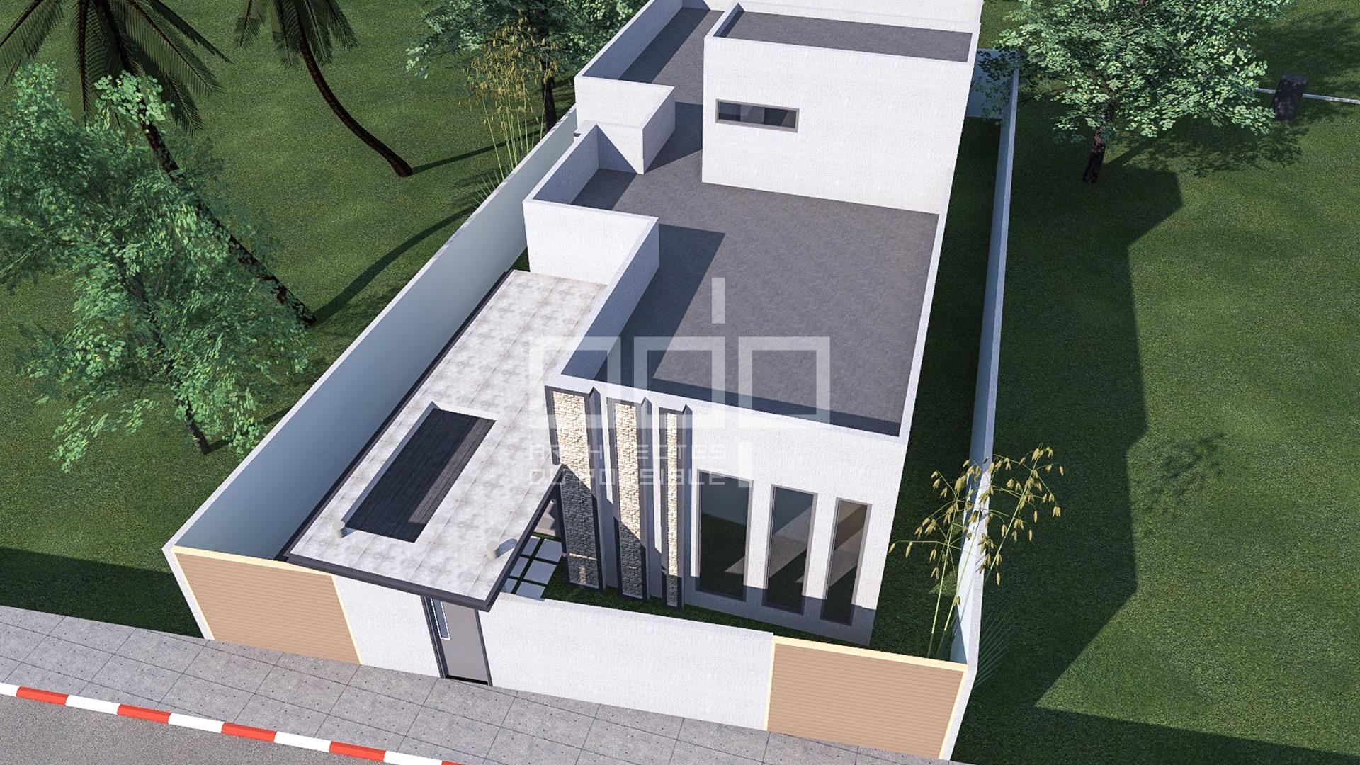 Villa à Djadjo Abomey Calavi